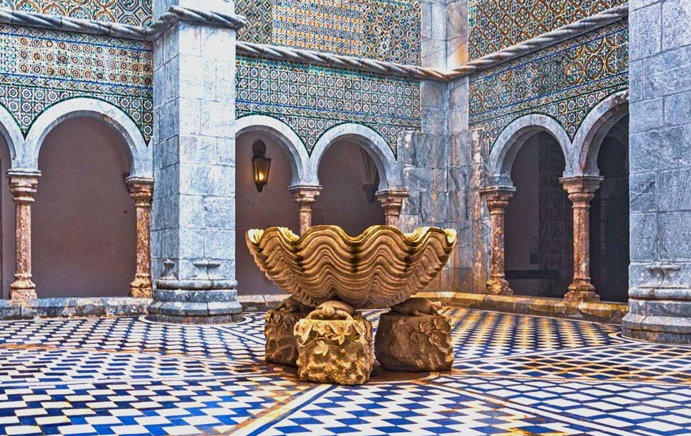 Pena Palace - Cloisters