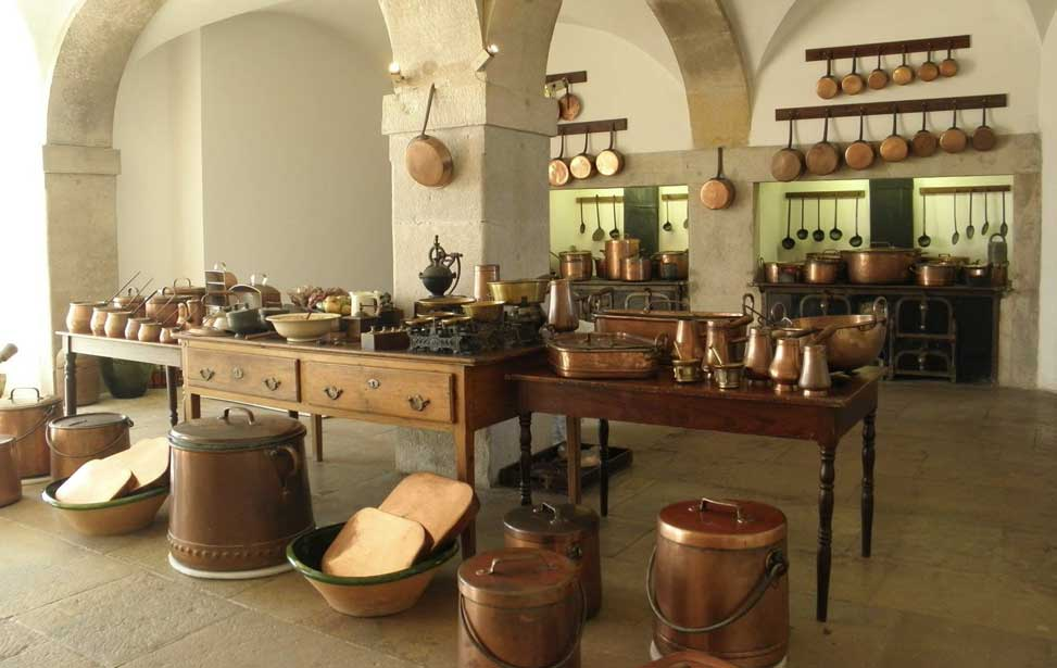 Pena Palace - Kitchens